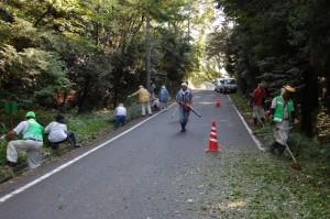 菅田 散歩会